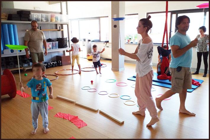 Foto allenamento bambini